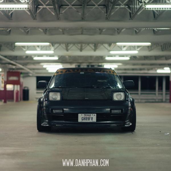 Tommy Le's 1989 RWB Inspired Toyota MR2 - Houston Automotive Photography