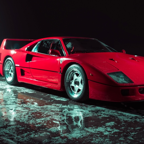 The Ferrari F40 - Houston Automotive Photography