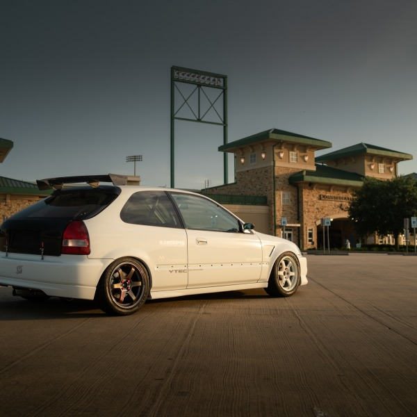 The Ricer Series - Danny's Honda K-Swapped EK Honda Civic