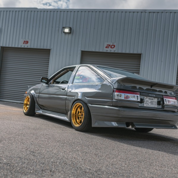 The Ricer Series - Juan's K24 Swapped AE86 Hatch